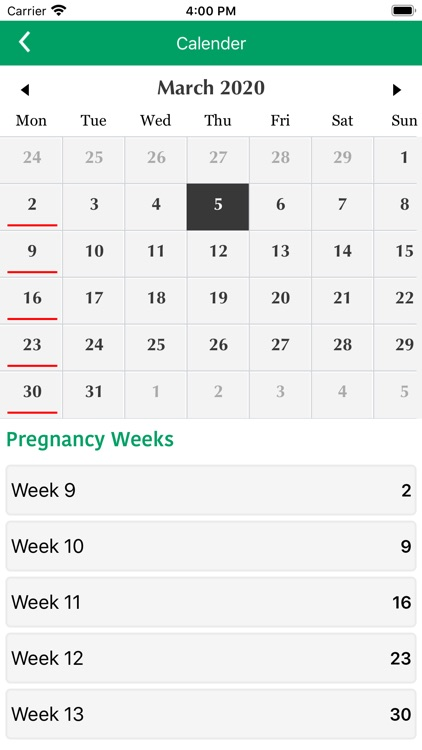 Pregnancy Tracker & Assistant screenshot-7