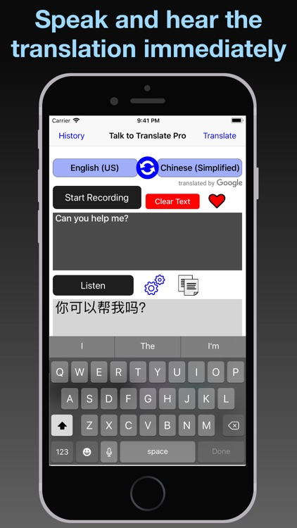 T2T Pro: Speech Translation screenshot-9