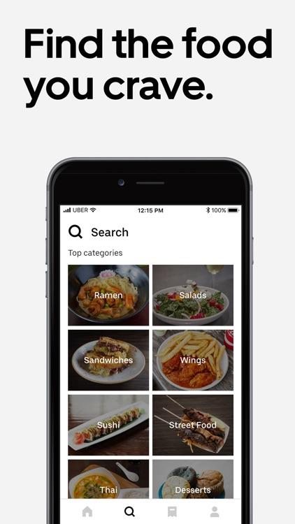 Uber Eats: Order Food Delivery screenshot-0
