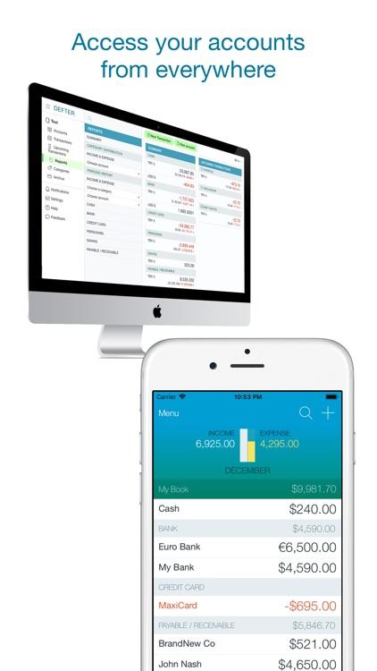 Account Book - Money Manager screenshot-3