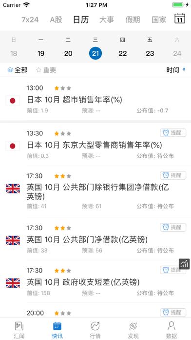 汇通财经(专业版) - fx678外汇贵金... screenshot1