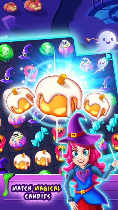 Witchdom 2 - Halloween Games screenshot two