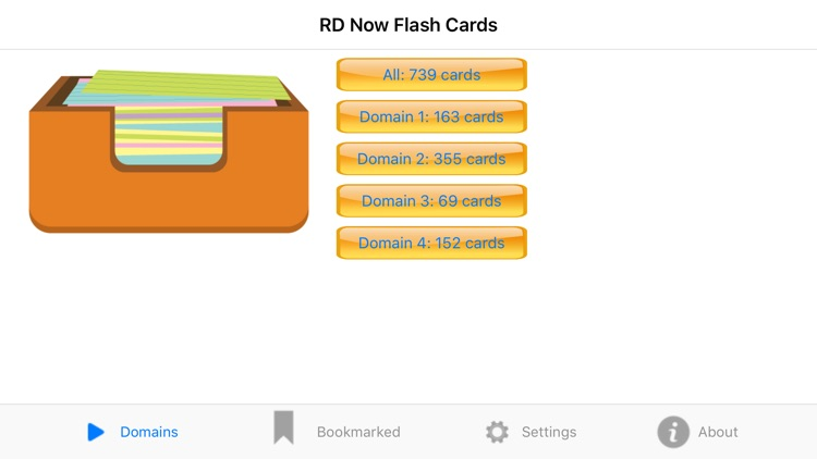 RD Now Flash Cards