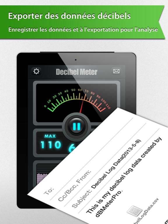 Screenshot #6 pour Decibel Meter Plus Pro