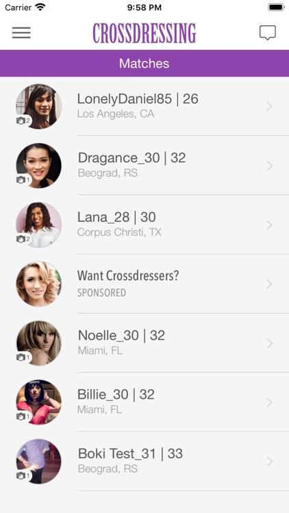 Crossdressing Singles screenshot-4