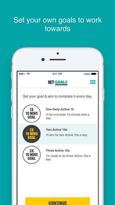 One You Active 10 Walk Tracker screenshot four