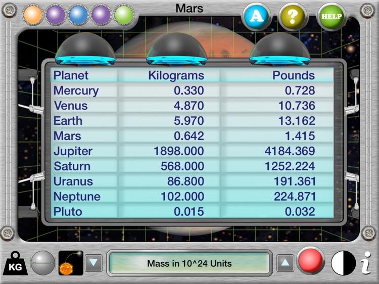 Interactive Solar System screenshot-3