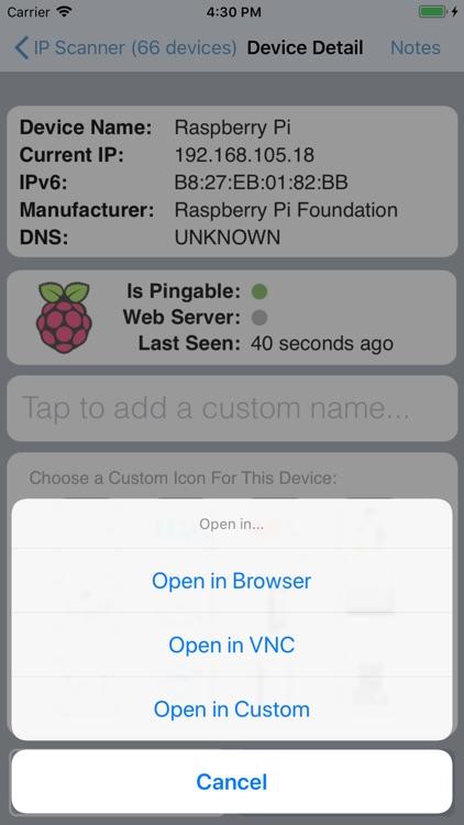 IP Network Scanner screenshot-3