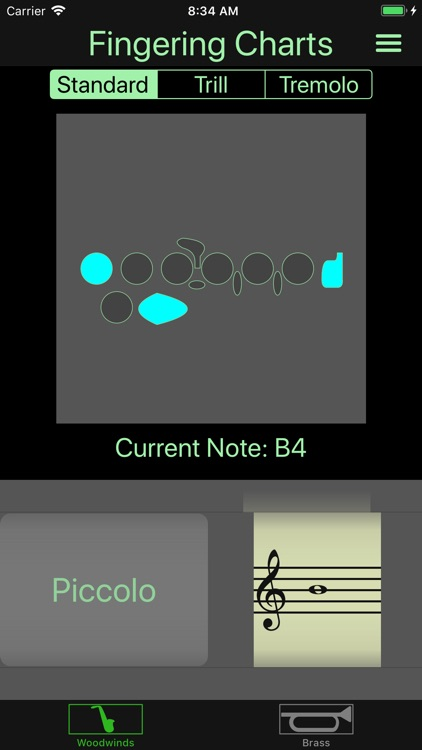 Instrument Fingering Charts screenshot-0