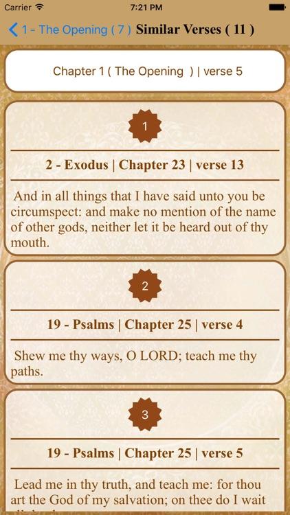 Bible Quran Link-Full Version screenshot-4