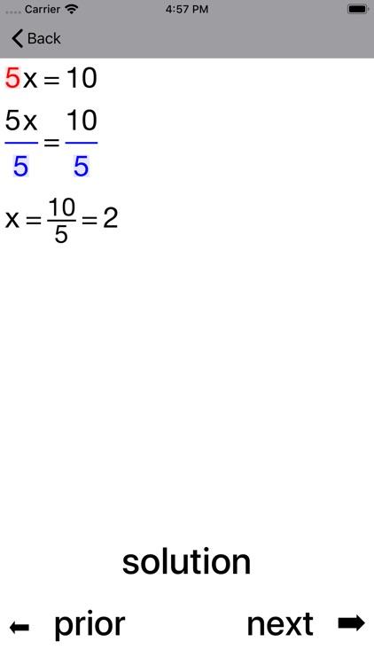 ALinearEqn Linear Equations screenshot-7