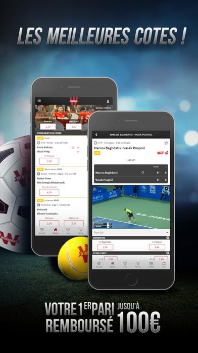 messages.download Winamax Paris Sportifs & Poker software