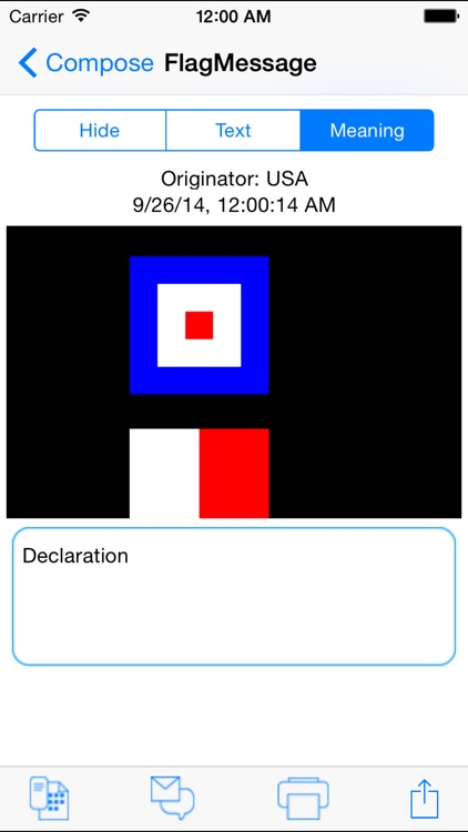 Signal Flags Communicator screenshot-3