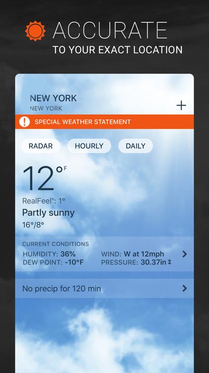 AccuWeather: Weather Radar – (iOS Apps) — AppAgg