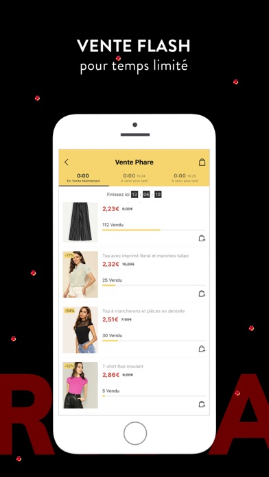 shein vente privee mode femme app analyse et critique. Black Bedroom Furniture Sets. Home Design Ideas