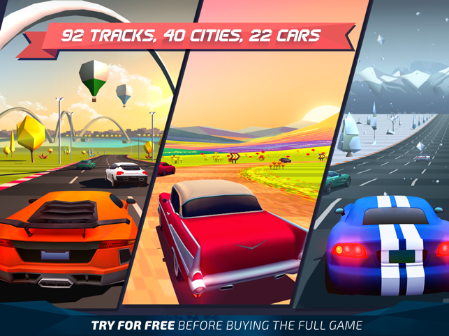 ‎Horizon Chase - World Tour Screenshot