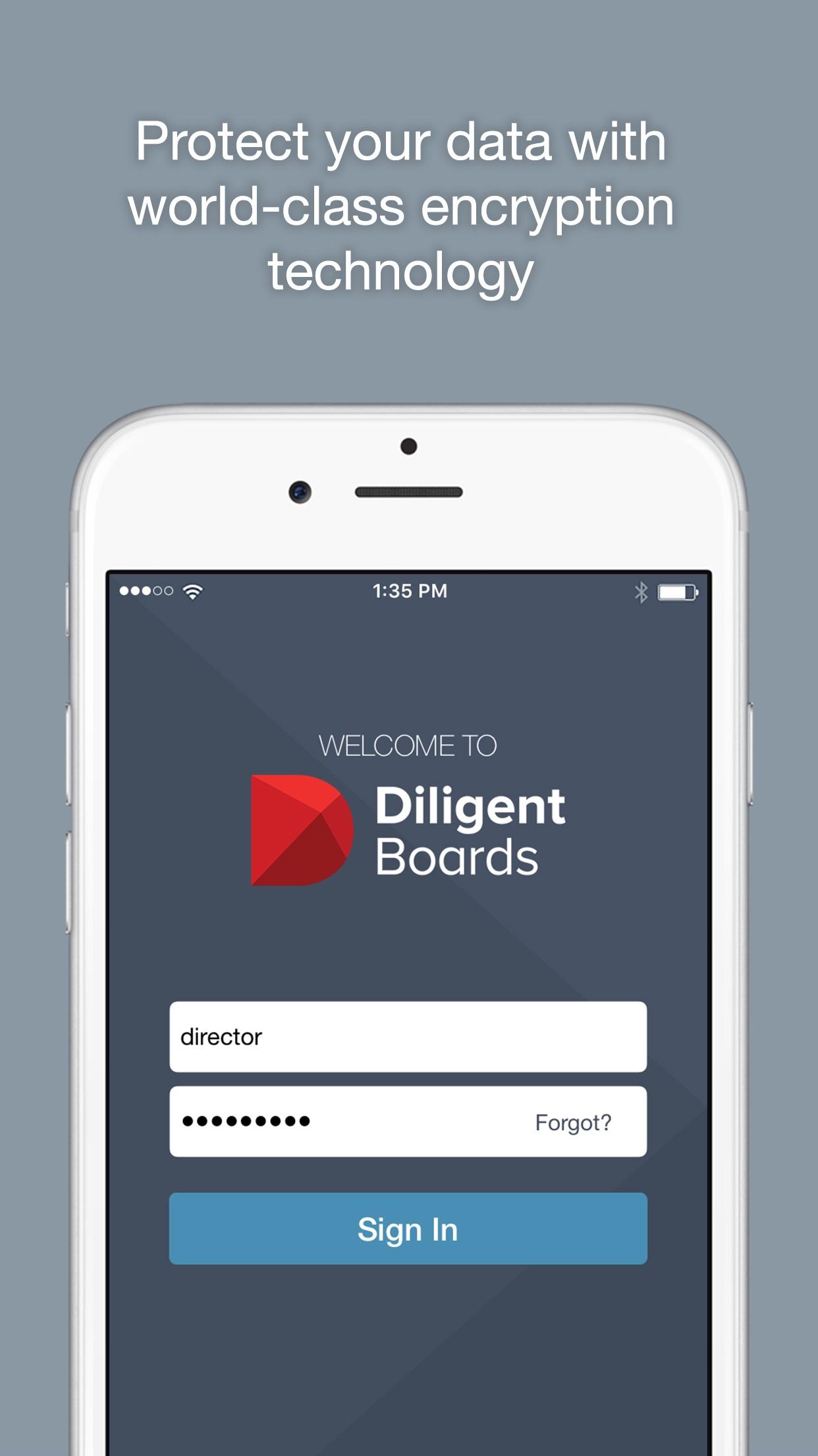 Diligent Boards Screenshot
