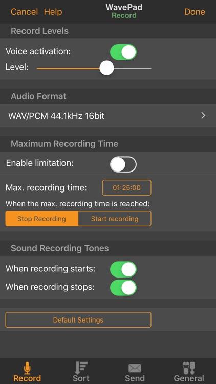 WavePad Music and Audio Editor screenshot-7