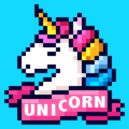 Unicorn Art: Color By Number iOS App
