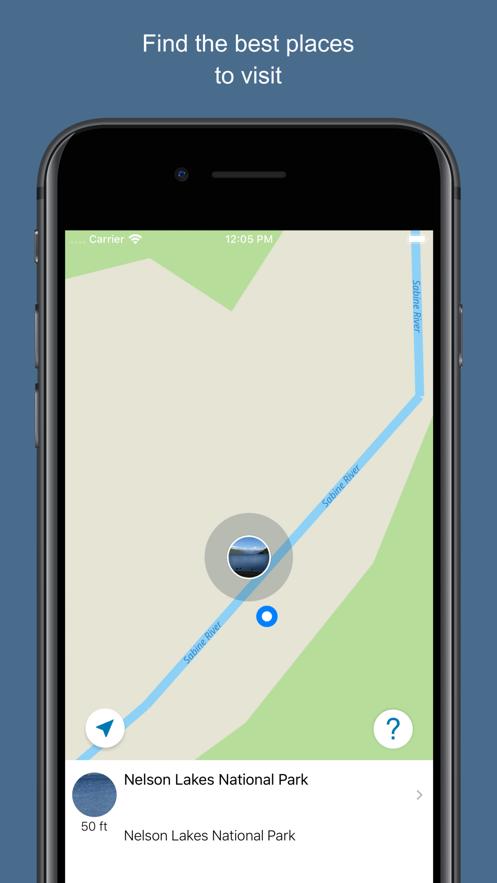 New Zealand 2017 — offline map App 截图