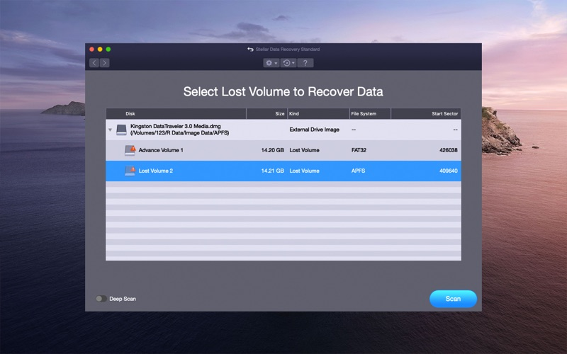 Stellar Data Recovery скриншот программы 9