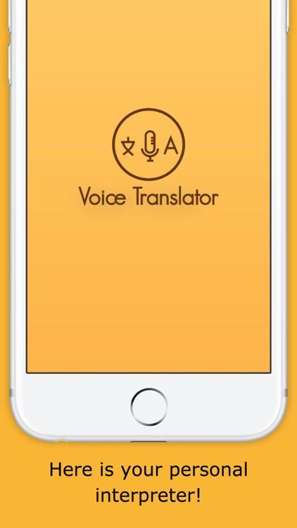 Interpreter Voice Translator screenshot-0