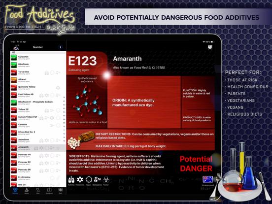 Food Additives 2 Screenshot 1