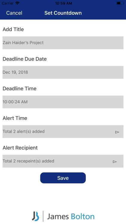 Deadline Reminder screenshot-3