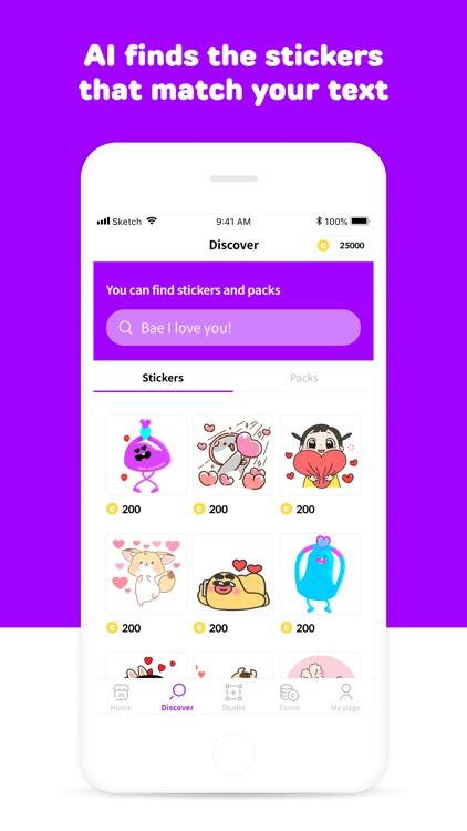 mojitok stickers screenshot-4