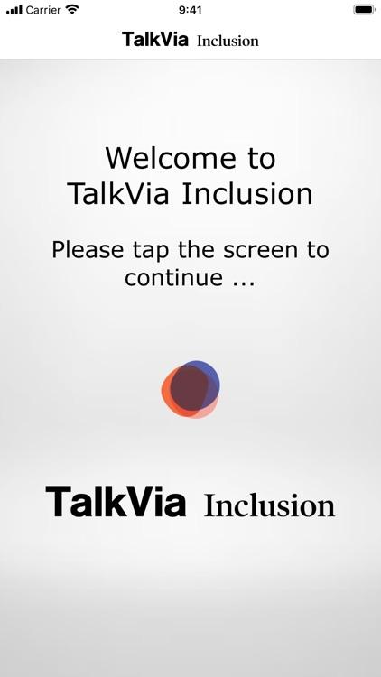 TalkVia Inclusion