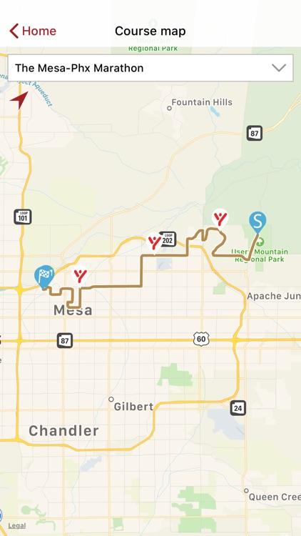 The Mesa-Phx Marathon screenshot-4