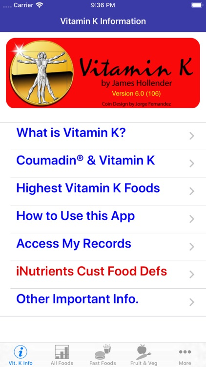 Vitamin K screenshot-0