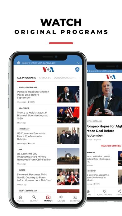 VOA screenshot1