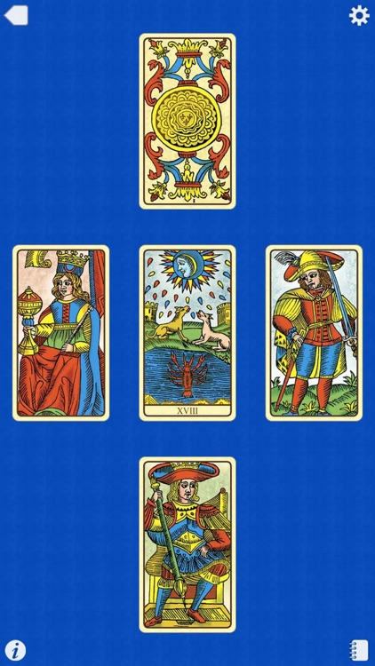 Universal Tarot of Marseille screenshot-4