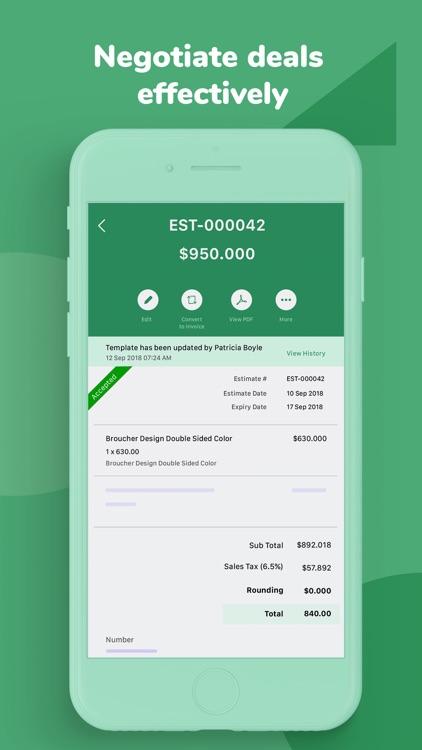 Invoice & Time Tracking - Zoho screenshot-6
