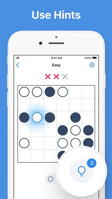 Binary Dots - Logic Puzzles screenshot 4