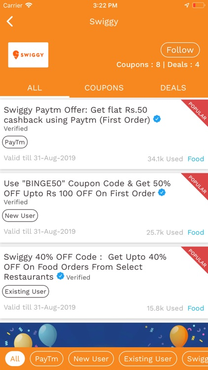 Offers Coupons Deals App screenshot-5