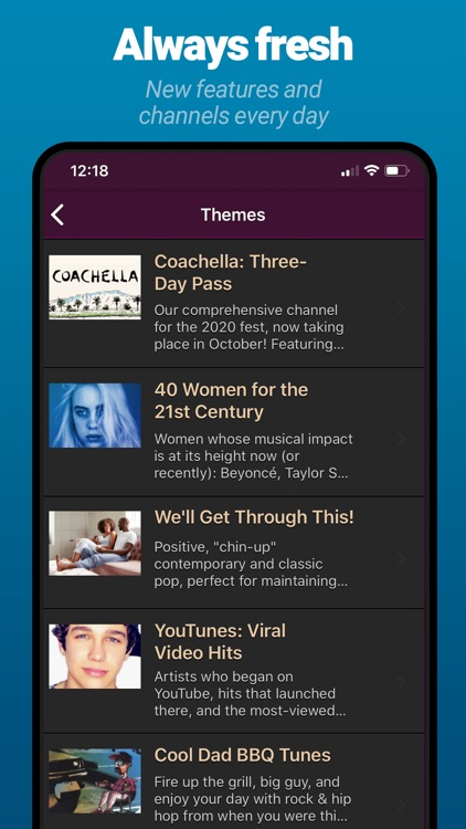 AccuRadio: Curated Music Radio screenshot-8