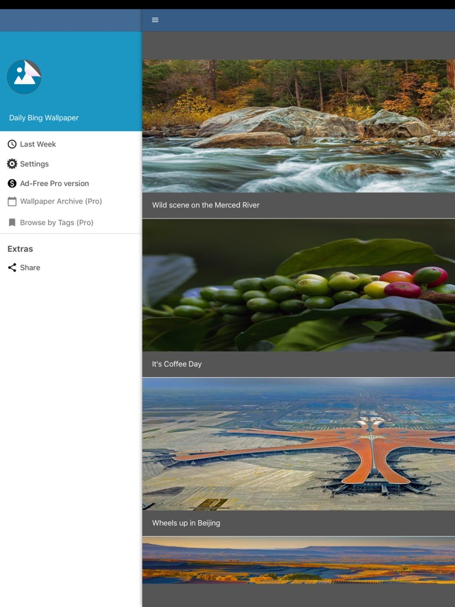 Daily Bing Wallpaper En App Store
