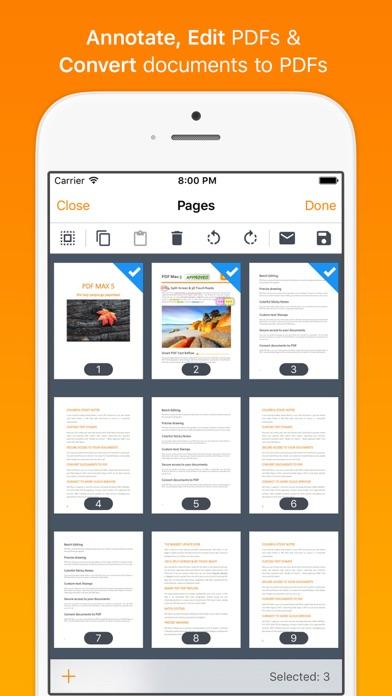 Screenshot #3 pour PDF Max - #1 PDF Reader App