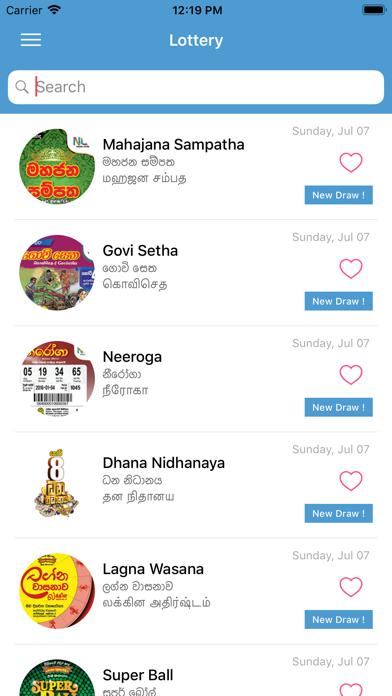 Lottery - Results | From Treinetic (PVT) Ltd | Wqxri apps store