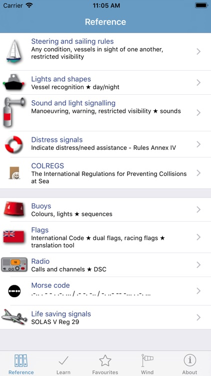 Marine Rules & Signals screenshot-0