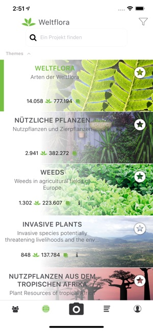 PlantNet Screenshot