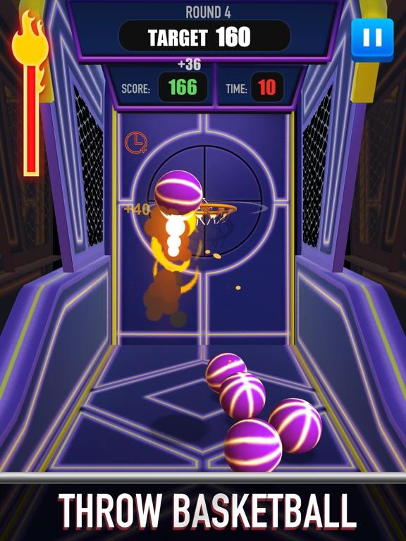 Score King-Basketball Games 3Dのおすすめ画像3