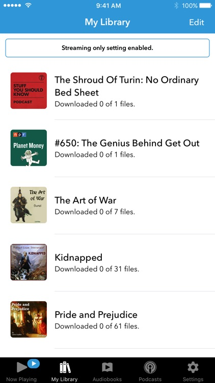Audiobooks screenshot-3
