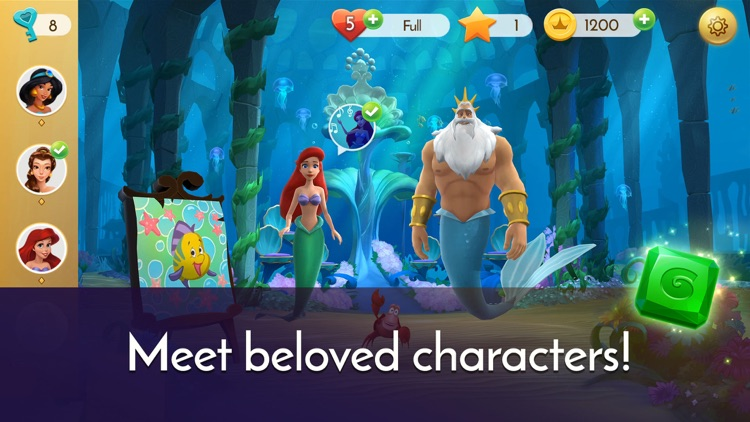 Disney Princess Majestic Quest screenshot-0