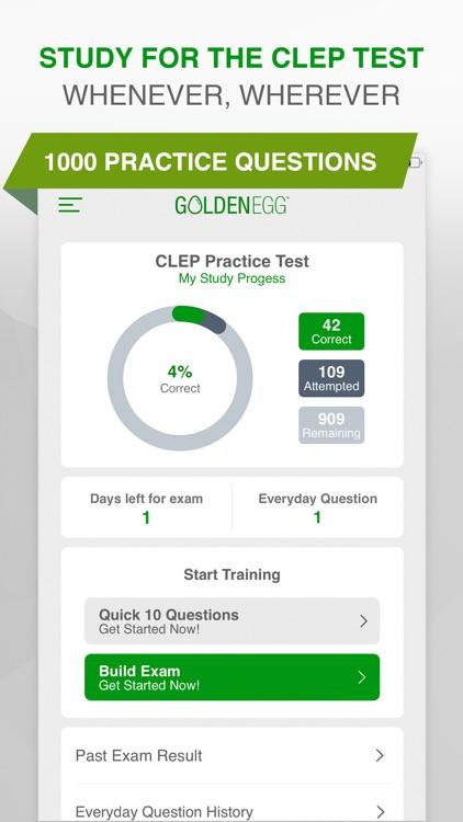 CLEP Practice Test Pro