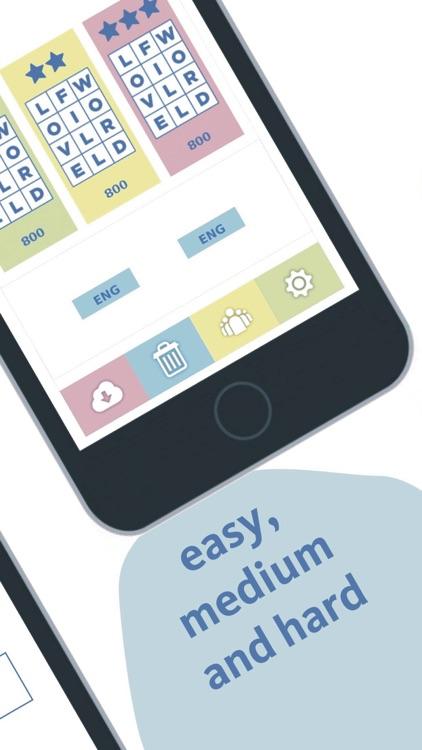 Sloword: new find words games screenshot-3