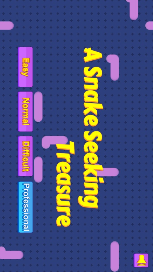 A Snake Seeking Treasure App 截图