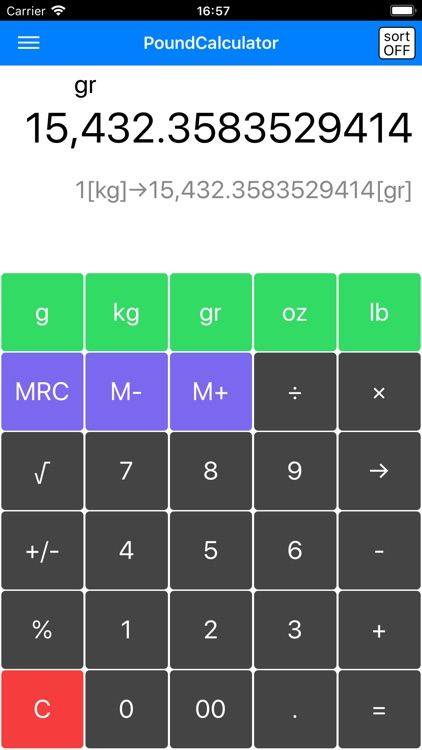 Pound Calculator -pound conv-